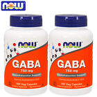 GABA 100/200 Caps Reduces Stress Promotes Mental Relaxation Better Quality Sleep