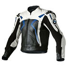 Men BMW Motorcycle Leather Jacket Racing Motorbike  Leather Jacket Armors