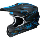 Shoei Blue VFX-W Hectic TC2 MX Helmet