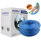 cat 5 cat 6 cable - 1000FT CAT6 23AWG CAT5E Cable UTP Solid Network Ethernet CAT5 Bulk RJ45 Outdoor