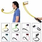 Lazy Bendable Flexible Hang Neck Phone Holder 360 Degree Rotation Mobile Stand J