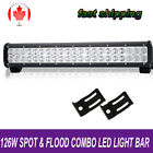 20Inch LED Work Light Bar Spot Flood Combo Offroad FOR SUV ATV Suzuki Eiger Quad