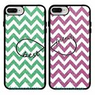 best phone cases for iphone 5 - Chevron &Best Friend Rubber Phone Case Cover For iPhone 5 6Plus 7 8 Plus.