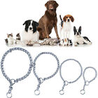 Pet Dog Choke Chain Necklace Choker Collar Portable Stainless Steel Training~