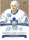 2017-18 Maple Leafs Centennial Maple Leafs MARKS AUTO - Pick