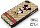 Style Gucci96MK18LV Mickey Mouse iPhone X XR XS MAX 8 7 6 5 Samsung S9 Plus Case
