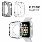 Apple Watch iWatch Series1 2 3 Cover Gel TPU Case Screen Protector Glass 38/42mm