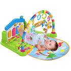 Baby Piano Safari Animals Gym Kick  Lay And Play  Toddler Activity Mat Kids