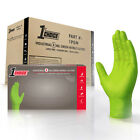 Kyпить 1st Choice Mechanic Latex Free Disposable Green Nitrile 8 Mil Gloves Non Vinyl на еВаy.соm