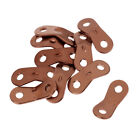 10pcs Aluminum Alloy Awnings Camping Tent Guy Line Adjusters Rope Tensioners