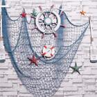 Mediterranean Fishing Nets Beach Ocean Decorative Bar Home Wall Party Decor W