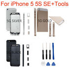 Replacement Housing Back Battery Cover Mid Frame Assembly For iPhone 5 5S SE New