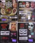 HALLOWEEN MAKEUP & APPLIANCE KIT– ZOMBIE -SLIT THROAT -MELTED DOLL or DEAD DOLLY