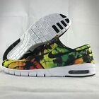 Nike SB Stefan Janoski Max PRM Yellow Green Tie Dye 807497 703 Mens 105 11 NEW