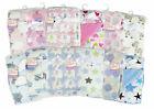 Baby fleece blanket cot pram travel babies soft comfort luxury 75x100cm
