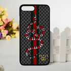 HOT Gucci97GC Snake Line hard case for IPHONE X 8 8 Plus 7 7+ 6s 6s Plus Cover