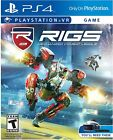 RIGS VR: Mechanized Combat League (PlayStation 4, PSVR) BRAND NEW & SEALED!! mcl