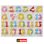 11 Piece Wooden Animal Puzzle Jigsaw Early Learning Baby Kids Educational Toys