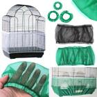 Nylon Mesh Guard Bird Cage Cover Pets Seed Catcher Cage Traps Shell Skirt US