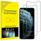 2-Pack iPhone Screen Protector Tempered Glass For All iPhone Models Scratch Free