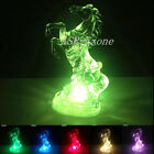 Horse Shaped Light Changing Color Night LED Cartoon Lamp Christams Decorations