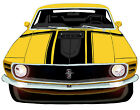 Ford 1970 Mustang Boss 302  canvas art print by Richard Browne