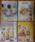 Kids Hats & Diaper Covers McCall's Sewing Patterns  NEW! UNCUT! You Pick! $3 Ea.