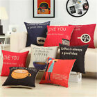 Lumbar Pillow Case Cushion Cover without inner Pillowcases Chair Seat Home Decor