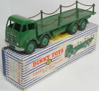 1954 DINKY #905 FODEN FLAT TRUCK W/ CHAINS, GREEN near-MINT W/ VG+ BOX