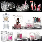 Women Clear Makeup Holder Jewelry Organizer Acrylic Cosmetic Case Storage Box