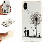 2018Ultra Slim Soft Pattern Silicone TPU + IMD Case Skin Cover For Various Phone