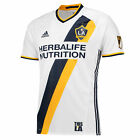 adidas Mens Gents Football Soccer LA Galaxy Authentic Home Shirt 2016 Jersey image