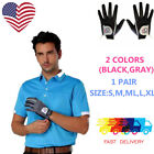 Mens Golf Gloves Pair Rain Grip Pr L Large XL Both Left Right Hand Value Pack US