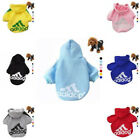 New Warm Adidog Sweater Hoodies Coat Apparel For Pet Dog