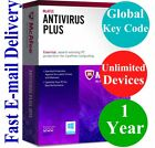 McAfee Antivirus Plus Unlimited Devices / 1 Year (Unique Global Key Code) 2020