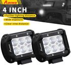 2-Pack ED Lights Bars Work 4inch Pod Driving Off-Road Truck Car SUV Jeep Lamp