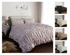 Ruched Vintage Style Luxury Duvet Covers Quilt Covers Bedding Sets Olivia Rocco