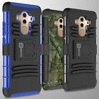 Protective Shockproof Case & Belt Clip Holster Cover for Huawei Mate 10 Pro