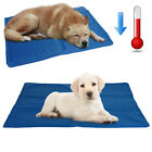 Pet Dog Cooling Mat Travel Bed Cat Puppy Self Gel Heat Summer Hot Weather Relief