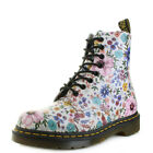 Womens Dr Martens Pascal WL Backhand Bone Mallow Pink Floral DM Boots Size