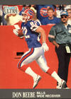 1991 Ultra Football #s 1-200 +Rookies - You Pick - Buy 10+ cards FREE SHIP