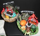 Toy Filled Camouflage Helmet Gift Basket Boys Birthday Get Well 5-10 yrs