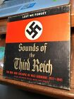RARE Lest We Forget: Sounds of the Third Reich Reel To Reel Tape 7 1/2  IPS