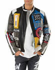 Men Studded Real Leather Handmade Studded Biker Style Leather Punk Jacket