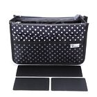 Periea Premium FIRM Handbag Travel Tidy Neat Organiser - Chelsy  - 3 Colours <br/> Structured with rigid sides to maintain its shape!