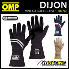 IB/746 OMP DIJON VINTAGE CLASSIC CAR RACING GLOVES FIREPROOF FIA 8856-2000