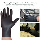 100PC/SET Cleaning Disposable Mechanic Glove Black Nitrile Anti-Static Gloves FE