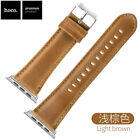 HOCO Duke Genuine Leather Strap for Apple Watch Series 3 2 1 Wrist Band 38 42mm