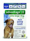 Bayer K9 Advantage II, Extra Large Dogs, Over 55-Pound, 6-Month - Free Shipping