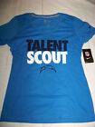 Nike Women's Los Angeles Chargers Talent Scout Shirt NWT $28.99 USD on eBay